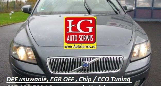 Volvo V50 usuniecie DPF, EGR, Eco-tuning Kraków
