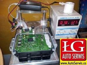 kodowanie sterownika ECU ford focus 1.6 tdci
