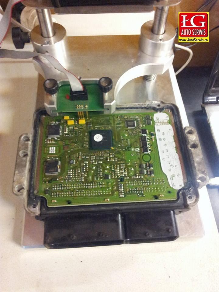 opel astra H 1,9 cdti usuwanie DPF  i programowanie sterownika EDC 16
