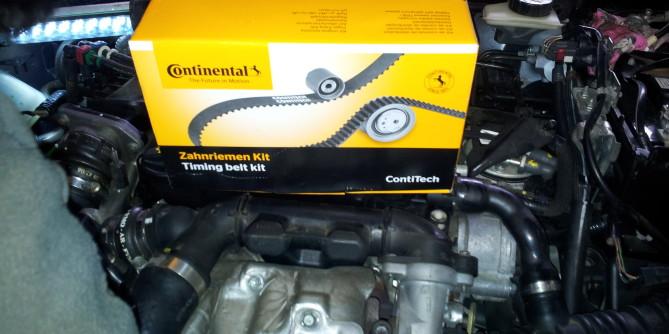Wymiana paska rozrządu Mazda 3 1.6 D 109 km